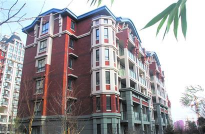 竹韵山色建筑立面采用欧式巴洛克风格