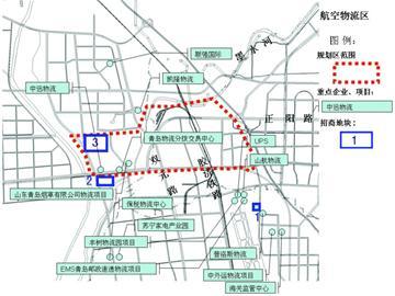 红岛区规划图
