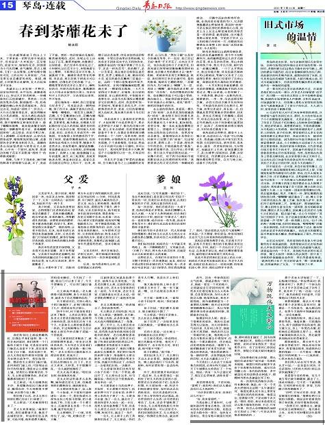 春到荼蘼花未了-青岛报纸电子版