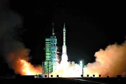 交会对接使命的神舟八号飞船,1日5时58分07秒从酒泉卫星发射中