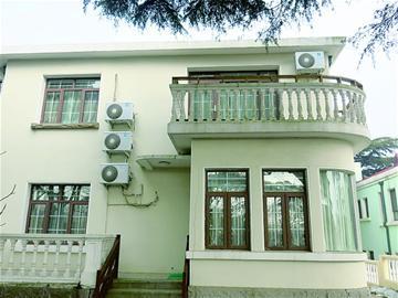 这栋建筑也是麦酒株式会社别墅,与5号的欧式设计不同,该建筑为属日本