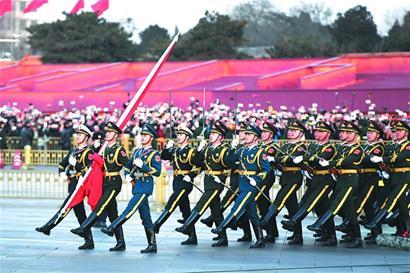 天安门广场升降国旗仪式呈现七变化