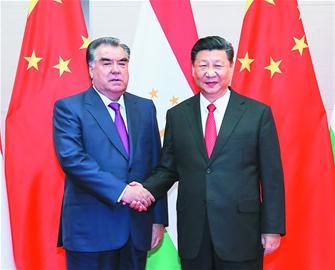 塔吉克斯坦总统说发展对华关系是塔外交优先方向