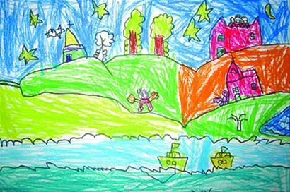儿童涂鸦画春节9位小朋友获得大奖-青岛报纸电子版