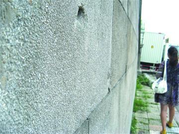 市区铁路边立着三幢文物老楼全国找水刷石给81 高清图片