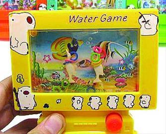 爸爸小时候玩的游戏