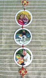 废旧光盘做连环照片墙-青岛报纸电子版图片