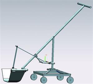 铲雪车最大的亮点是省力