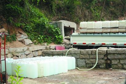 继续进行灌装桶装山泉水经营