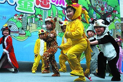 青春中国梦儿童画
