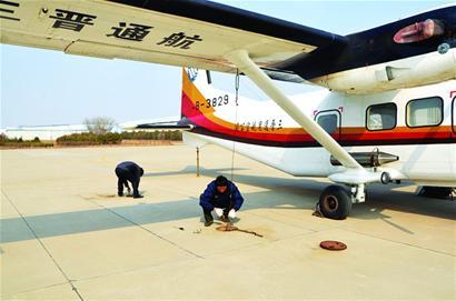 岛城人工增雨使用的飞机曾是军用运7飞机