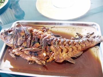 水库人家的淡水鱼来自崂山水库