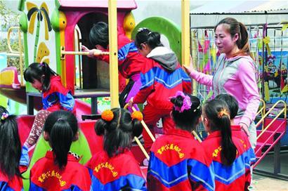 大风车育新幼儿园的第一批孩子只