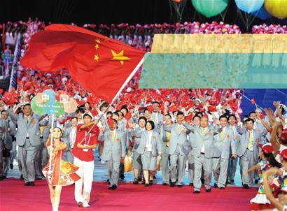 2011世界大学生运动会昨晚在深圳揭幕