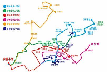 青岛市北区抚顺路地图全图