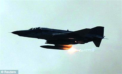 土战机在国际空域被击落?
