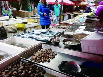 海鲜的团岛,抚顺路批发市场,李沧华中蔬菜批发市场,即墨海产品批发