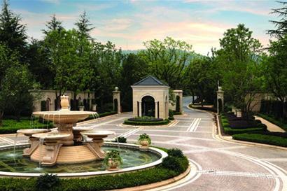 """九溪玫瑰园将""""环境设计""""的理念引入别墅建筑"""
