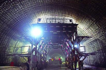 地铁1号线过海隧道开挖过半-青岛报纸电子版