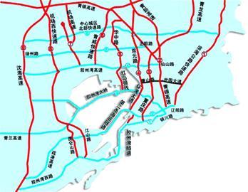 作为落实青岛城市总体规划,完善城市路网体系的重要举措,规划在青岛市